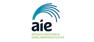 Academy of Interactive Entertainment logo